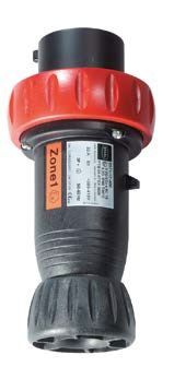 EX Stecker für R50 230ex; zur Verwendung innerhalb der Ex-Zone 1, Stahl Reihe 8570