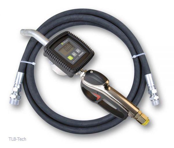Schlauchgarnitur für Druckluftpumpe DP 35 mit Handdurchlaufzähler FMOG