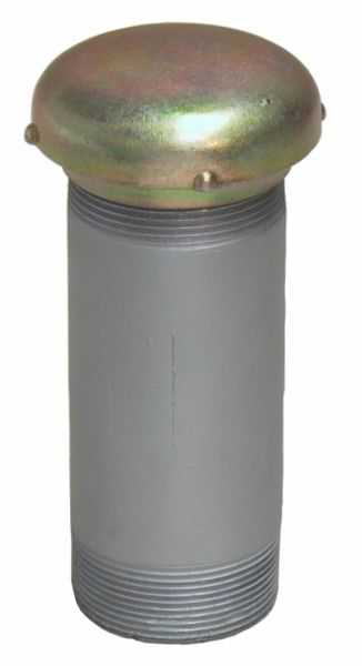 """MATO Be- und Entlüftungsarmatur R2"""" mit Rohrstück und Entlüftungskappe"""