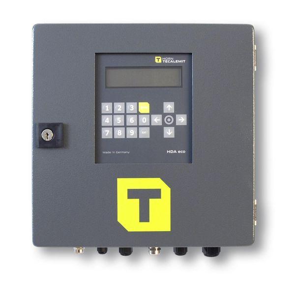 Tankautomat HDA eco für einen Zapfpunkt, Tandatenerfassung