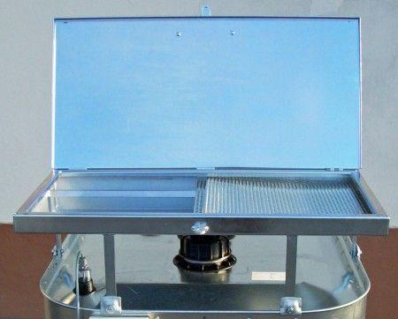 Altöl Einfülltrichter, Altöltrichter für Schütz VET Tank