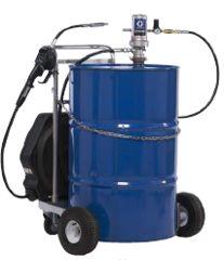 GRACO LD Ölpumpen – Sets für Fasswagen, 3:1 mit Schlauchaufroller Druckluftpumpe