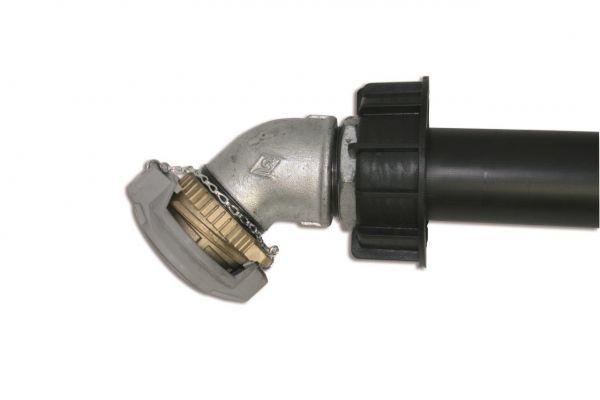 Saugrohr mit Tankwagenkupplung für Unitech/Multitech 750 l/1000 l