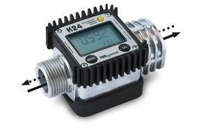 Digitaler Turbinenzähler K24 ex für Benzin mit LCD Anzeige - Piusi