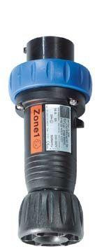 EX-Stecker für R50 12ex; zur Verwendung innerhalb der Ex-Zone 1, Stahl Reihe 8571