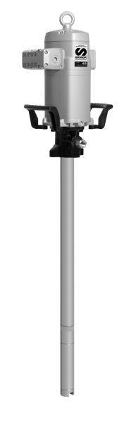 Druckluftkolbenpumpe Pumpmaster 45 Fett mit Saugrohr 855mm
