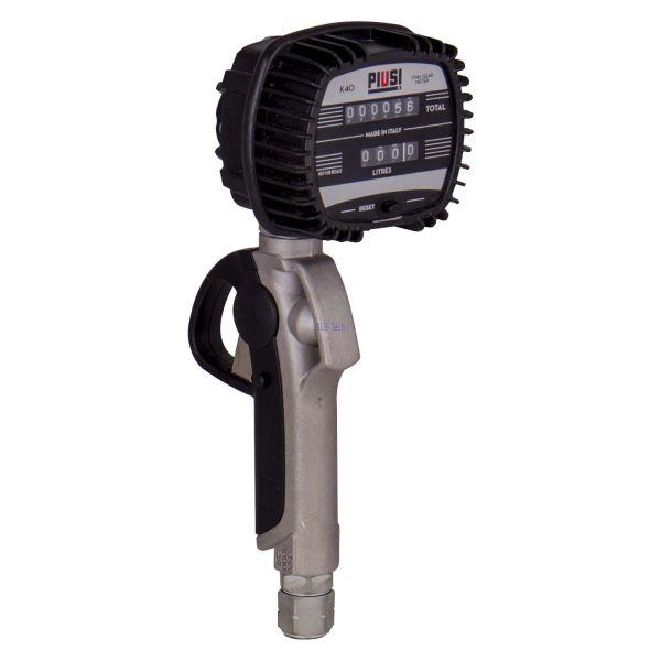 PIUSI K40-Handdurchlaufzähler ohne Auslauf