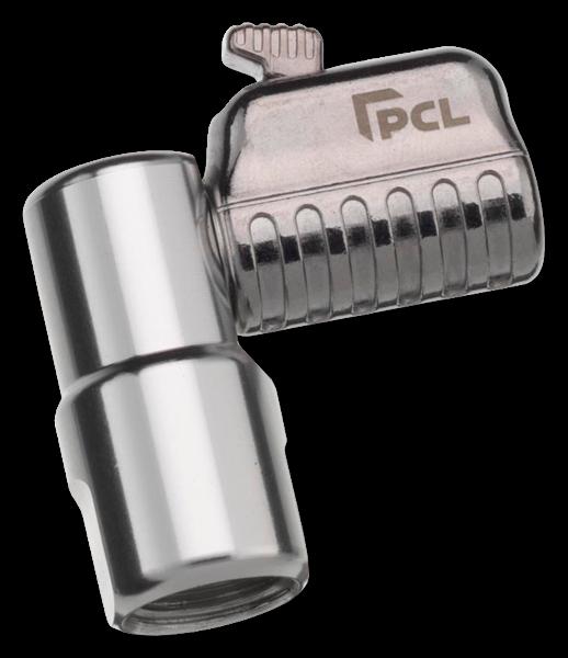 """Reifenventilstecker One Clip pro A Innengewinde 1/4"""" PCL abgewinkelte Ausführung"""