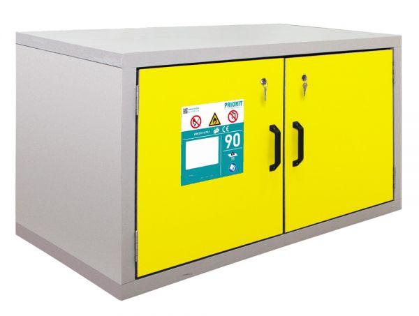 Untertisch-Sicherheitsschrank Typ90 mit Schublade