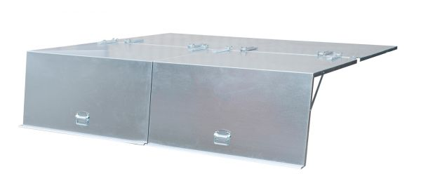 4-teiliger Deckel für Typ BKC 500 BAUER