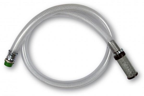 Saugschlauch DN 11 x 4, 1600mm, mit Filter