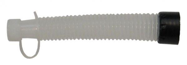 MATO Flexibler Auslauf für Flüssigkeitsmaße Typ J-PE 1000 + 2000 und für Kunststofftrichter Typ F-HD