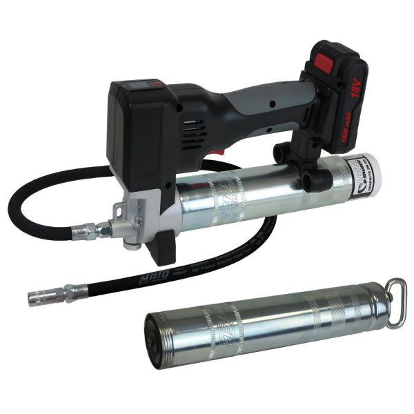 Akku-Fettpresse 18V Li-Ion Professional für Lube-Shuttle® und 400g Pull-Off-Kartuschen