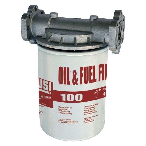 "PIUSI Filterkartusche 5µ - 100 L/Min. mit 1""-Halterung"