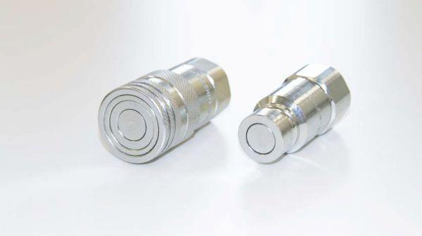 """Kupplungssatz1/2"""" tropffrei, NW 12,5; bestehend aus Kupplungsmuffe und Kupplungsstecker"""