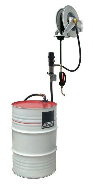 MATO pneuMATO-Ölförderpumpe Wandmontage für 200 Liter Ölfässer