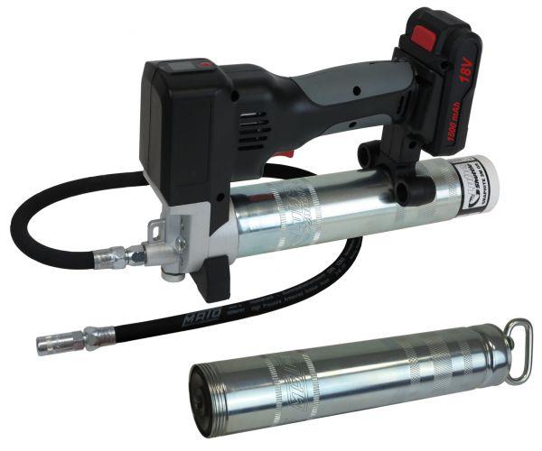 Akku-Fettpressen 18V Li-Ion für Lube-Shuttle® und 400g Pull-Off-Kartuschen