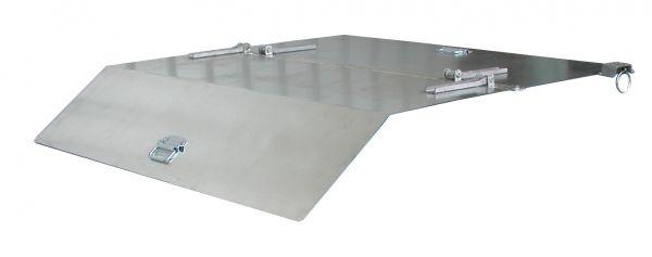 2-teiliger, verzinkter Deckel für Typ BK 100 BAUER