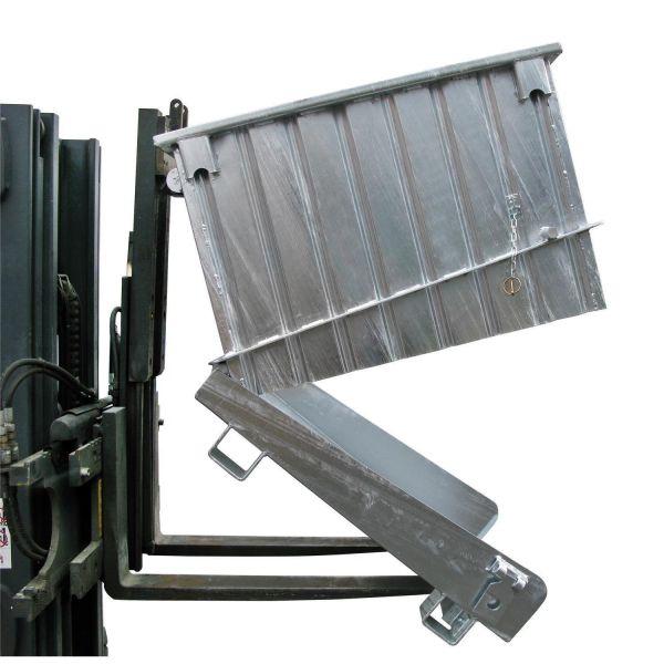 Klappbodenbehälter HKB mit dosierter Bodenentleerung für Gabelstabler
