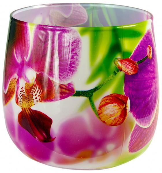 "Duftglas mit Motiv ""Orchidee Pink"""