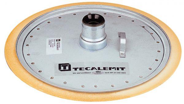 Abstreifdeckel für 340-380 mm Fass-Innendurchmesser