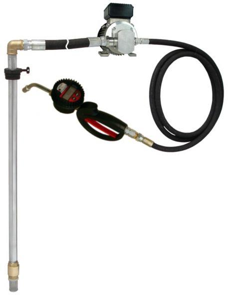 MATO Elektro-Zahnrad-Pumpensystem EP100 für 200 l Ölfässer mit 4 m Druckschlauch mit DIGMET E35