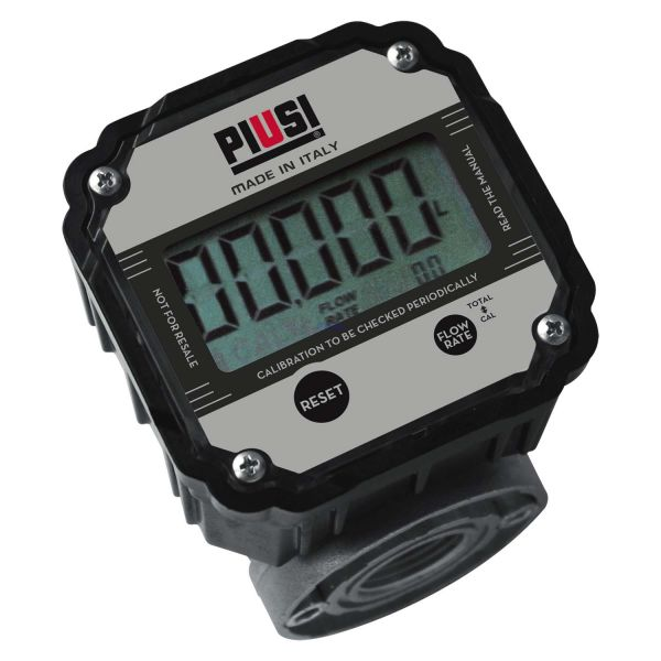 """PIUSI Zähler K600 B/3 3/4"""" für Öl bis zu 60l/min"""
