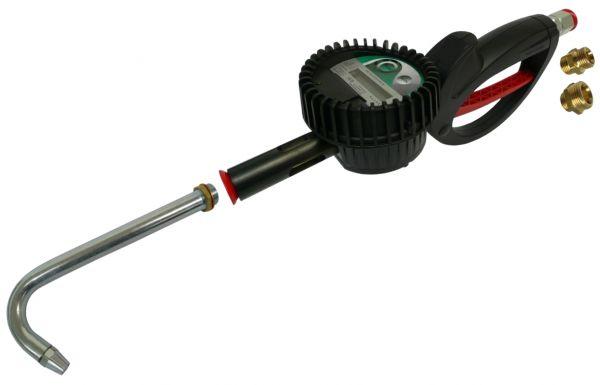 MATO Elektronischer Durchflussmesser, eichfähig inkl. MID-Zulassung mit Drehgelenk