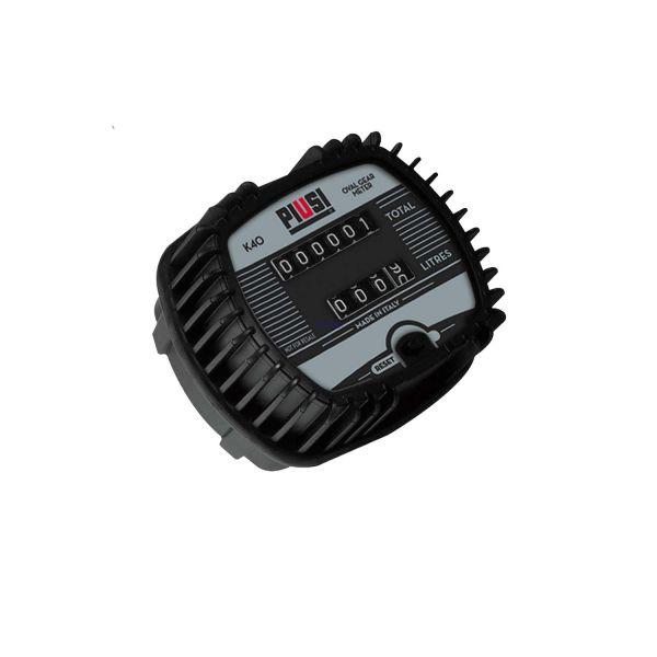 PIUSI Durchflusszähler K40 für Öl Ovalradzähler