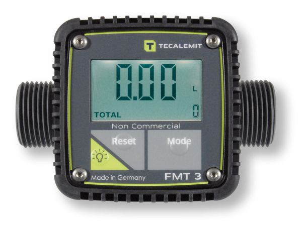 Elektronischer Durchflussmesser FMT 3 - POM