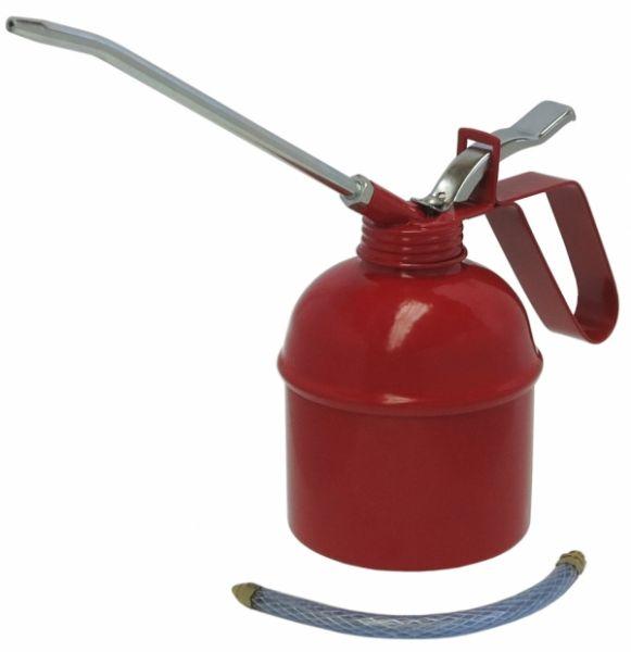 MATO Metallölkanne mit starrem und flexiblem Auslauf und Metallpumpwerk ca. 500 ccm
