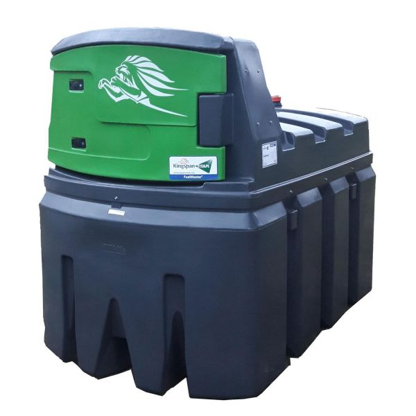 2500 Liter Hoftankstelle mit digitalem Zählwerk - Dieseltankanlage - FuelMaster® - Dieseltank - King