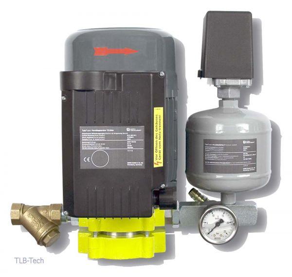 Elektropumpe für Frischöl Fernölapparatur TZ10An, nicht eichfähig Membrandruckregler Anschlusskabel und Stecker, fertig montiert