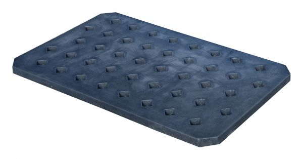 Lochrost LR-PE 60, aus robustem Polyethylen, Ausführung in schwarz