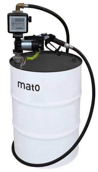 Mato Elektro-Tankanlage EX 50 mit ATEX-Zulassung und mit Zähler
