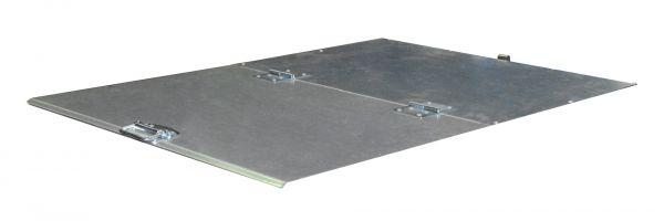 2-teiliger Deckel für Typ VD 650, VG 700 BAUER