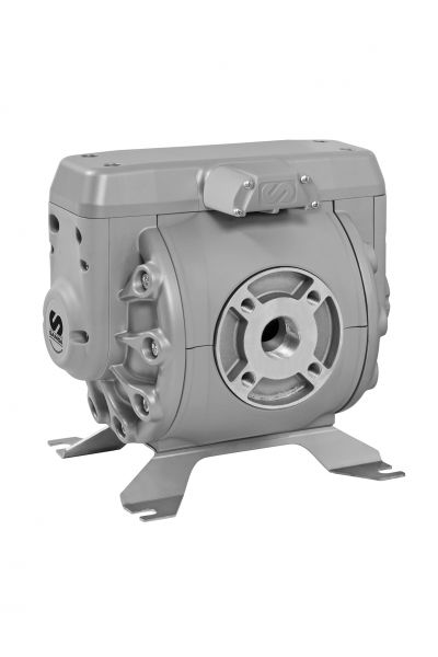 Druckluft-Doppelmembranpumpe DF-250 Alu zum Dosieren, Umpumpen und Absaugen verschiedener Flüssigkei