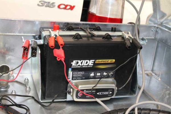Halterung für Batterie Quadro C