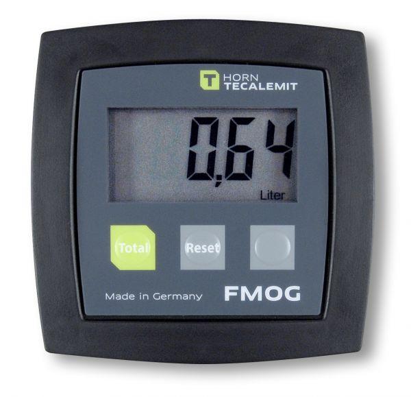 Durchflussmesser FMOG, digital, eichfähig, Einlauf unten