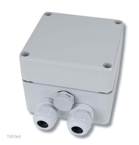 Klemmenkasten IP 66 mit atmungsaktiven Filter