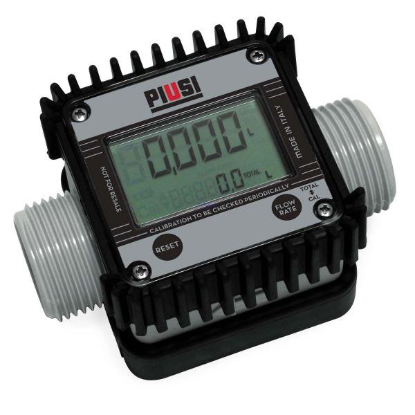 """Adblue Zähler K24 1"""" AG-AG/IG (1"""" Muffe) PIUSI"""