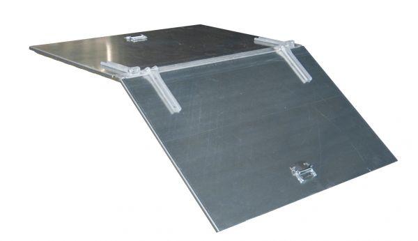 2-teiliger Deckel für Typ KW, SKW, KK, SKK 400 BAUER