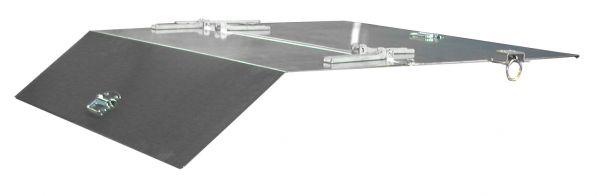 2-teiliger, verzinkter Deckel für Typ GU 1000/SGU 100 BAUER