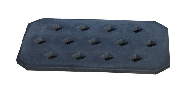 Lochrost LR-PE 20, aus robustem Polyethylen, Ausführung in schwarz