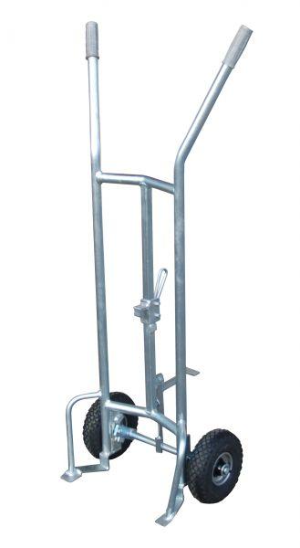Fasskarre FP-L mit Luftbereifung für 200l Spundfässer BAUER Südlohn