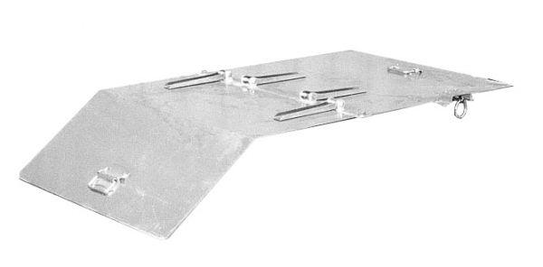 2-teiliger Deckel für Typ GU 500, SGU 50 BAUER