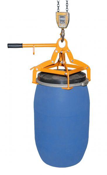 Fassgreifer Typ 4P-D für 120 oder 220 Liter Kunststoff-Deckelfässer - Bauer Südlohn