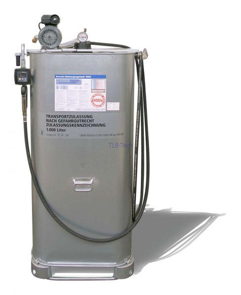 Tankkompaktanlage für Motoren-, Getriebe- und Hydrauliköle
