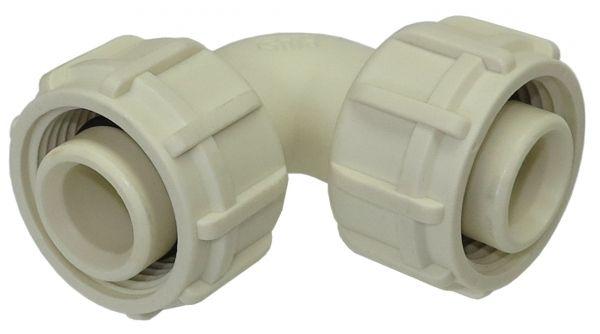 Winkelstück 90° mit Überwurfmutter nötig z.B. für den Anbau an Turbinenradzähler DIGMET AFM 30