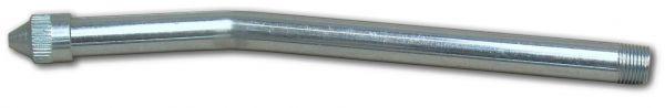 E4012 Düsenrohr, gebogen 150mm mit Spitzmundstück
